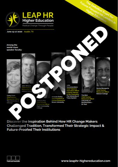 LEAP HR High ED- Postponed